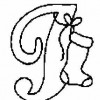 Alfabeto de Natal - Letra I