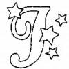 Alfabeto de Natal - Letra J