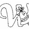 Alfabeto de Natal - Letra W