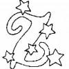 Alfabeto de Natal - Letra Z