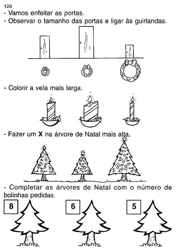 Extremamente Atividades de Natal para Educação Infantil BN15
