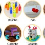 Criança adora brinquedo artesanal