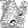 Colorir Natal Turma da Mônica 04