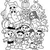 Colorir Natal Turma da Mônica 07