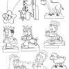 Desenhos de Natal - Presépios 04