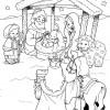 Desenhos de Natal - Presépios 05