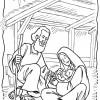 Desenhos de Natal - Presépios 09