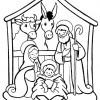 Desenhos de Natal - Presépios 10