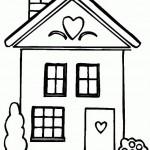 Desenhos para colorir – Casas