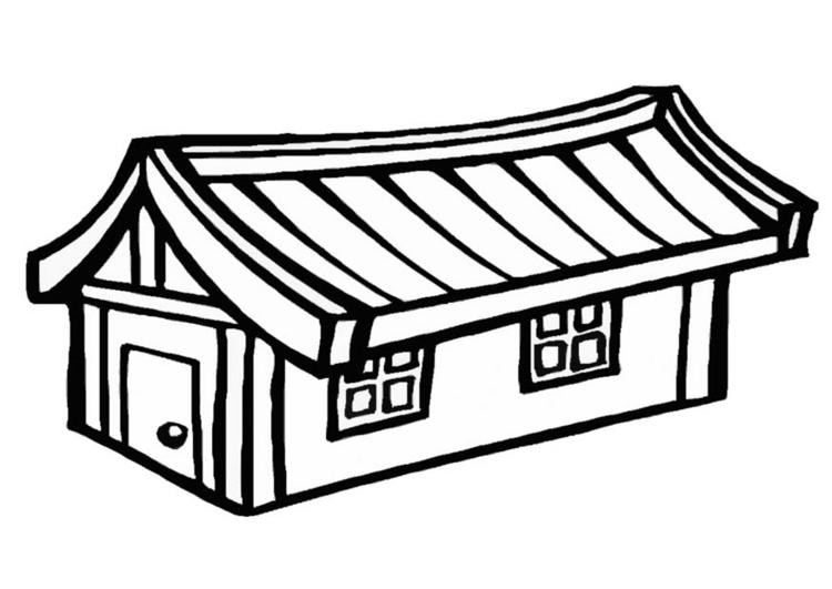 Desenhos Para Imprimir Colorir E Pintar De Casas