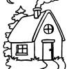 Desenhos colorir - Casas 19