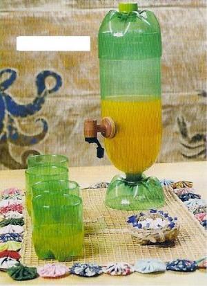 Filtro com garrafa PET