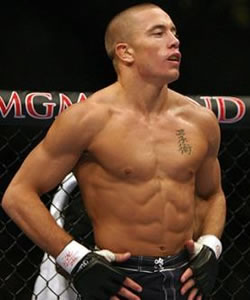 "Georges ""Rush"" St. Pierre UFC"