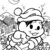 Desenhos de Natal da Turma da Mônica
