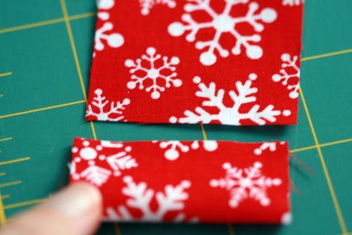 Pinhas de Natal feitas com retalhos de tecido 06