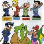 Proclamação da República: Atividades e quadrinhos da Turma da Mônica