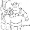 Desenho colorir Shrek 18