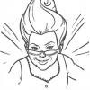 Desenho colorir Shrek 23