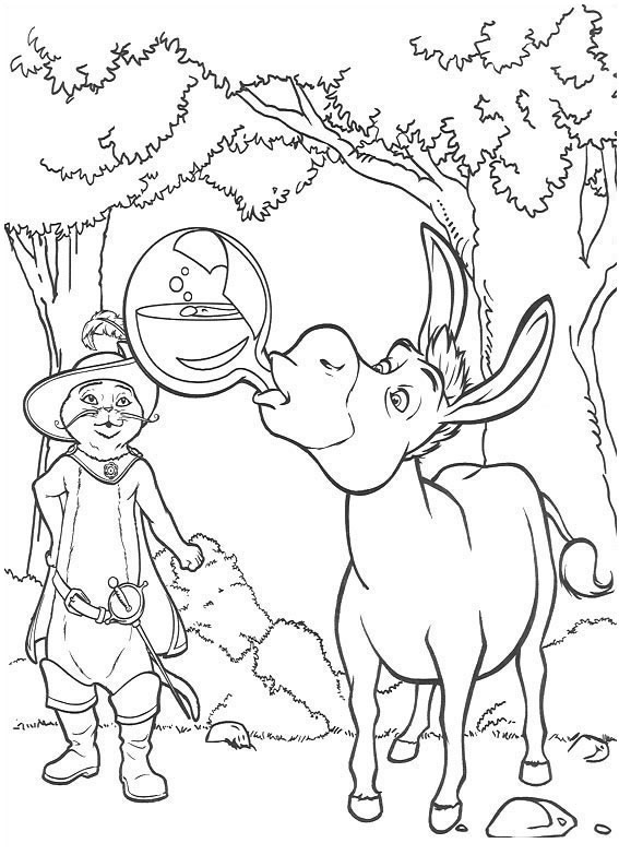 Desenhos Para Imprimir E Colorir De Shrek