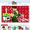 Exemplo de Cartão de Natal do Ben 10