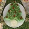 Receita de bolo salgado em formato de árvore de natal