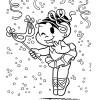 Desenhos para colorir carnaval Turma da Mônica 09