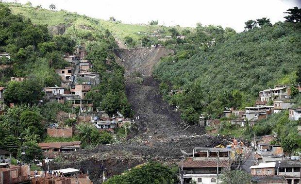 Deslizamento Morro do Bumba, em Niterói