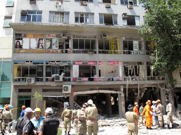 Explosão do restaurante da Praça Tiradentes