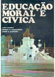Livro Educação Moral e Cívica