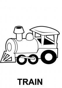 Alfabeto em inglês - Train - Trem