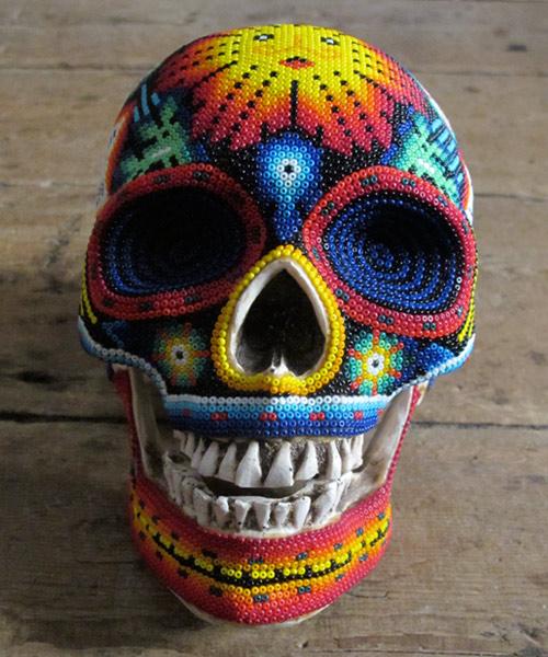 Arte com crânios Huichóis - 05