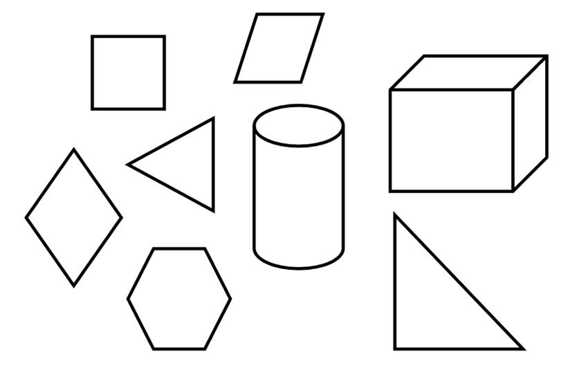 Desenhos De Figuras Geométricas Para Imprimir Desenhos