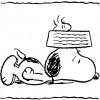 Colorir Snoopy 04