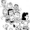 Colorir Snoopy 10