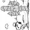 Colorir Snoopy 13