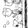 Colorir Snoopy 21