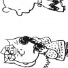 Colorir Snoopy 22