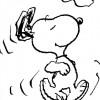 Colorir Snoopy 24