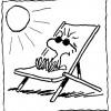 Colorir Snoopy 25