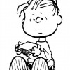 Colorir Snoopy 29