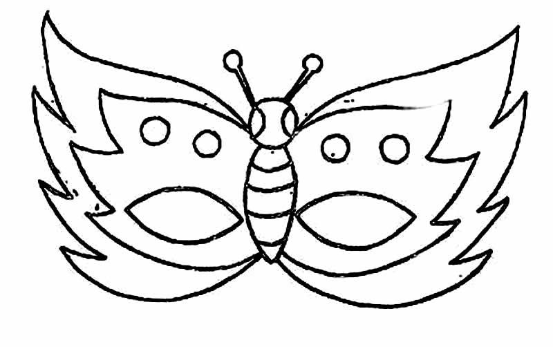 Moldes de mascaras de carnaval para imprimir - Imagui