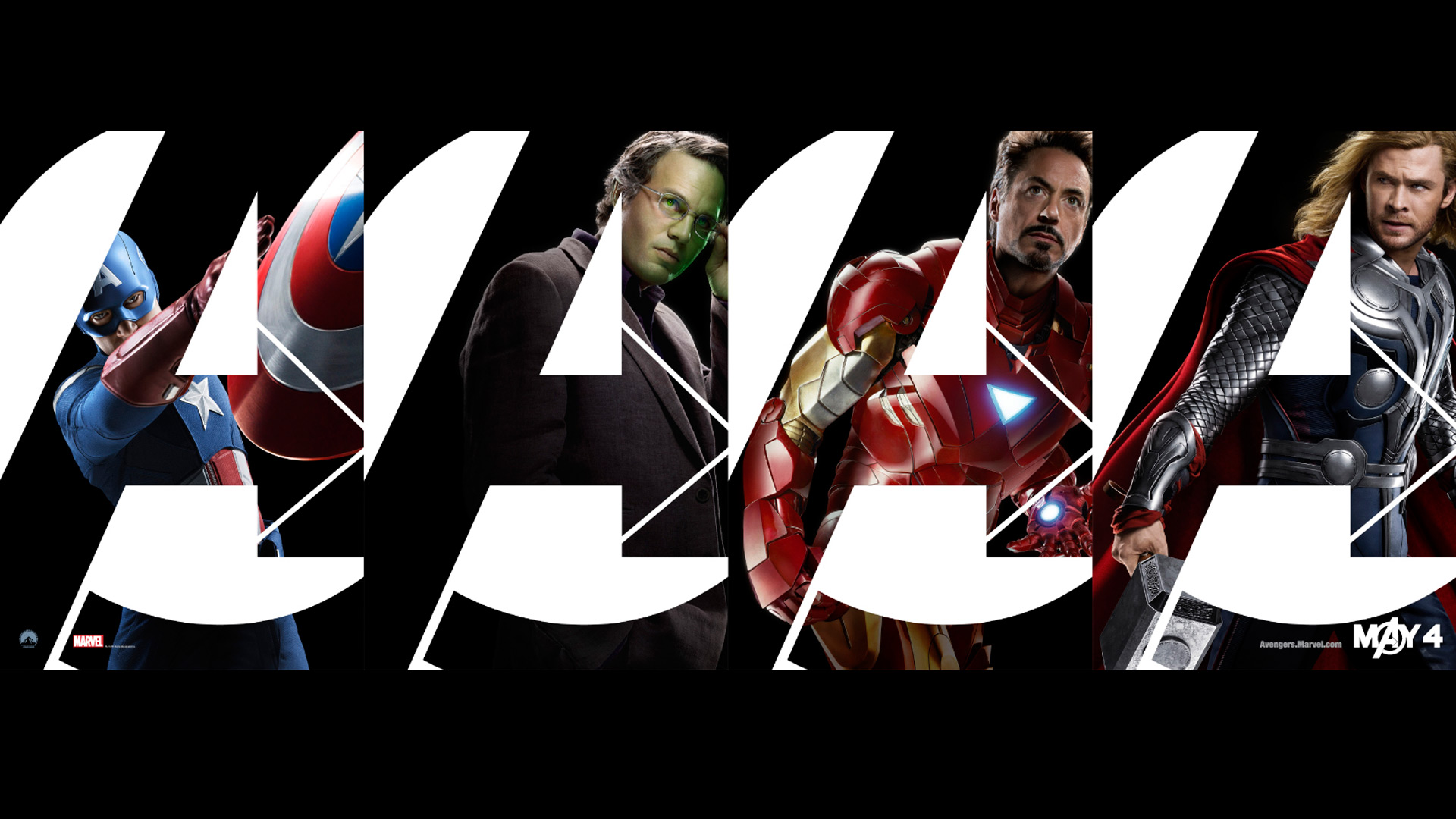Wallpaper Os Vingadores 03