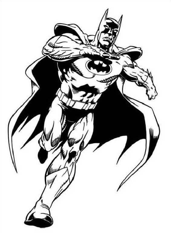 Super Desenhos para imprimir e colorir de Batman LO72
