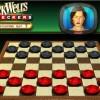 Jogue partidas de dama em 3D em SnackWell's Checkers
