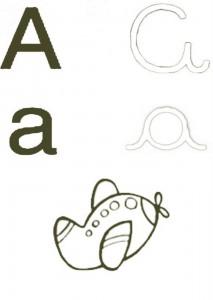 colorir-letra-a