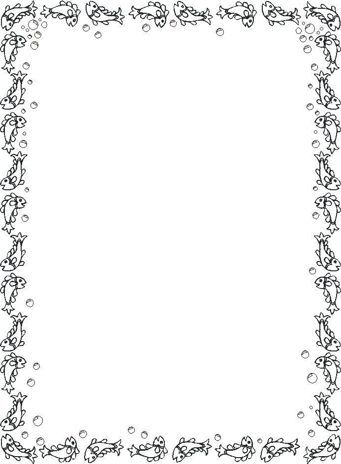 60 bordas pedag gicas para atividades desenhos convites for Cornici foto bianche