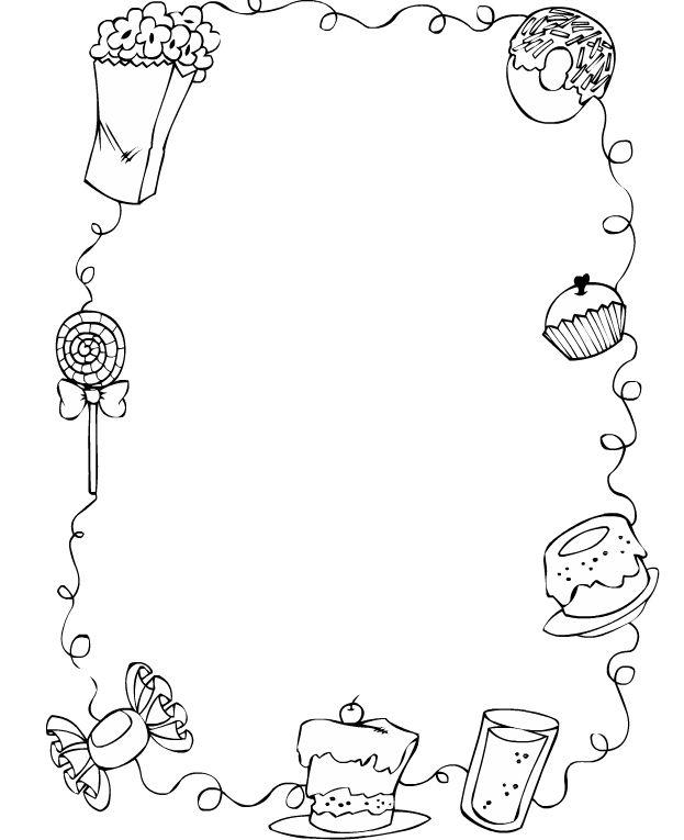 60 bordas pedag gicas para atividades desenhos convites for Bordas para mural