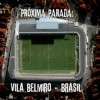 Chamada do confronto entre Santos e Corinthians