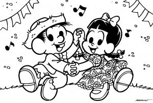 desenhos-turma-monica-festa-junina-colorir-8