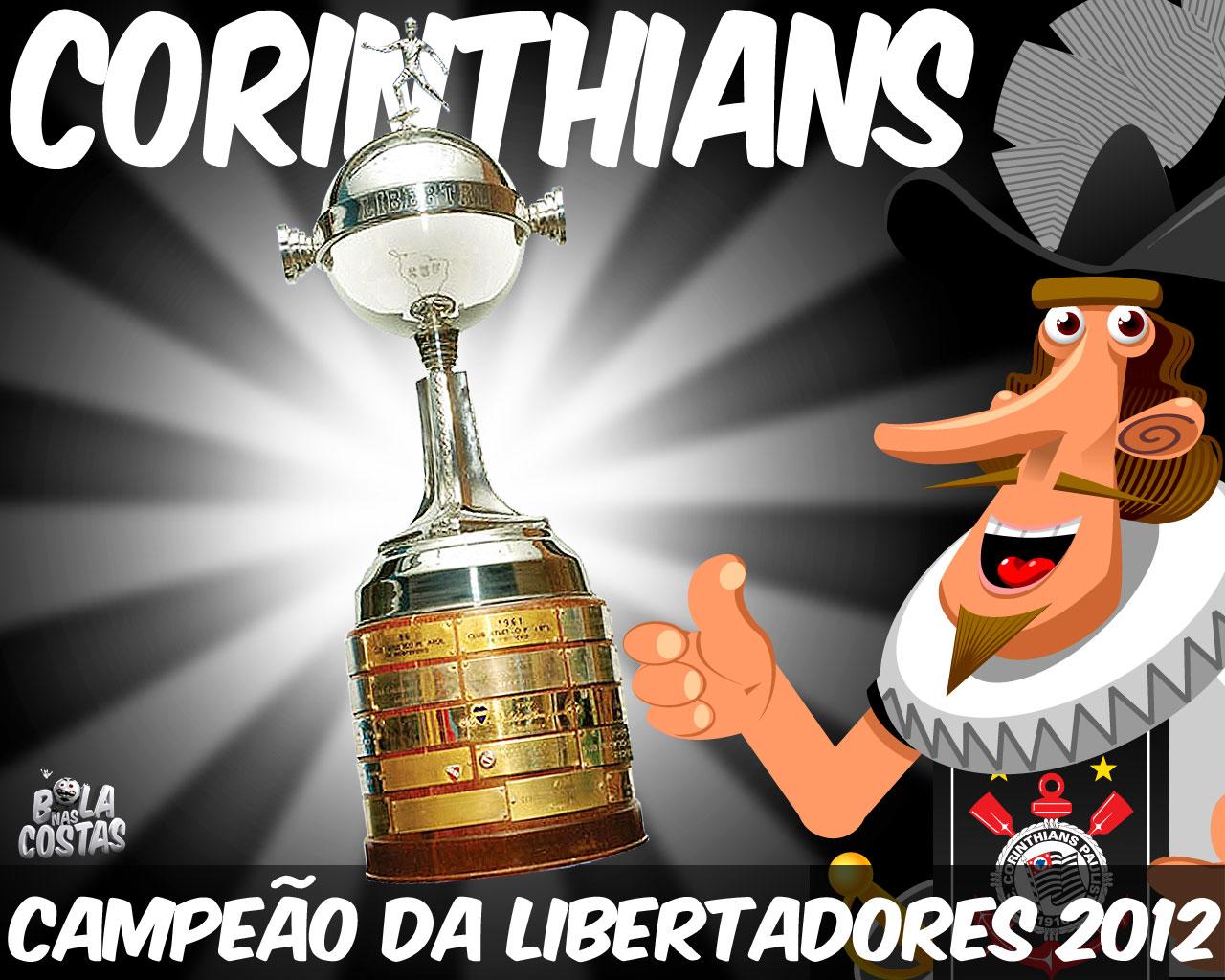Wallpaper Corinthians Campeão da Libertadores 2012 - 03